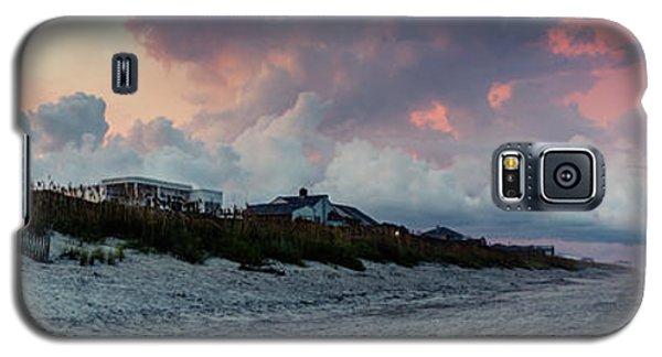 Sunset Emerald Isle Crystal Coast Galaxy S5 Case