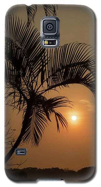 sunset Huong river Galaxy S5 Case
