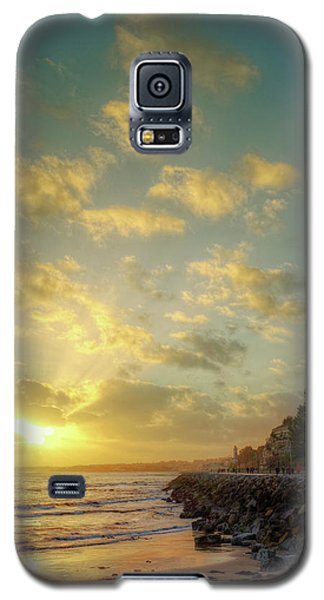 Galaxy S5 Case featuring the photograph Sunset In The Coast by Carlos Caetano