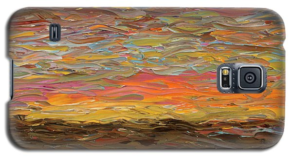 Sunset Galaxy S5 Case by James W Johnson