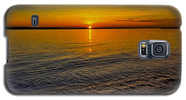Galaxy S5 Case featuring the photograph Sunset by Kathy King