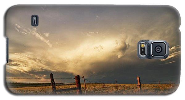 Sunset Near Santa Rosa New Mexico Galaxy S5 Case