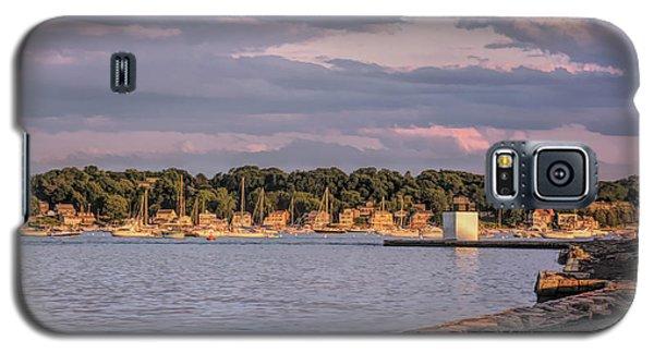 Sunset On Salem Harbor Galaxy S5 Case