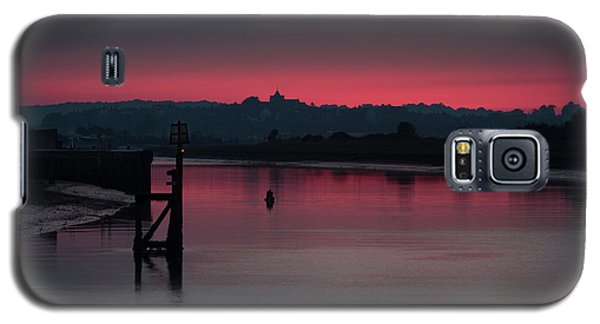 Sunset On The River Galaxy S5 Case