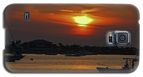 Galaxy S5 Case featuring the photograph 1- Sunset Over The Intracoastal by Joseph Keane