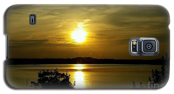 Sunset Over The Potomac Galaxy S5 Case