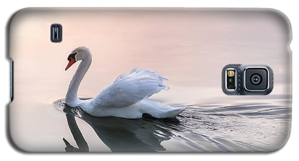 Sunset Swan Galaxy S5 Case by Elena Elisseeva