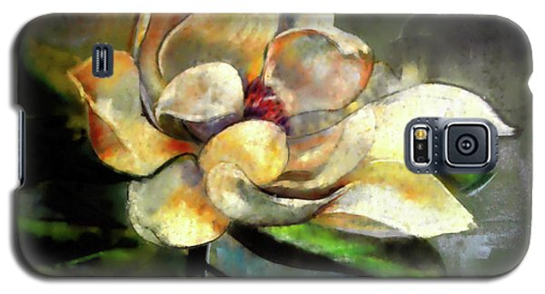 Magnolia Galaxy S5 Case - Sweet Magnolia Of Alabama by Lesa Fine