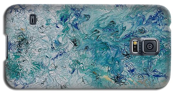 Galaxy S5 Case featuring the painting Swell by Pat Purdy