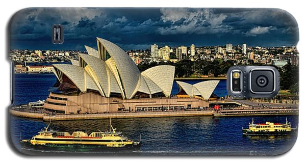 Sydney Opera House Australia Galaxy S5 Case by Diana Mary Sharpton