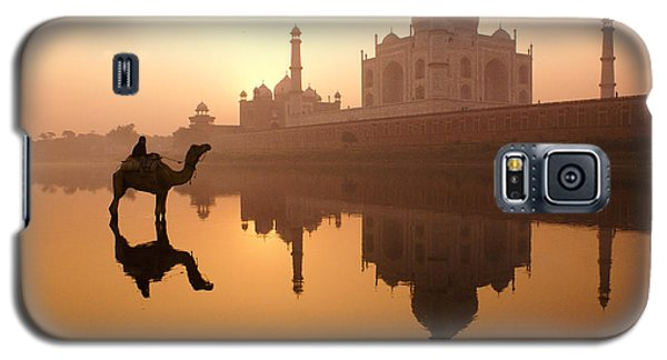 Taj Mahal At Sunrise Galaxy S5 Case