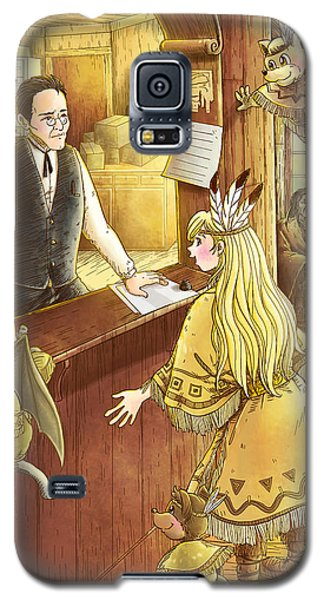 Tammy And The Postmaster Galaxy S5 Case by Reynold Jay