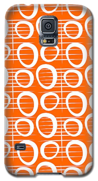 Tangerine Loop Galaxy S5 Case by Linda Woods