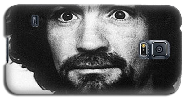 Charles Manson Mug Shot 1969 Vertical  Galaxy S5 Case