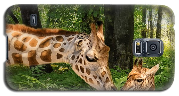 Tender Are The Moments Where Love Embraces Time Galaxy S5 Case