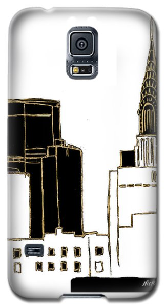 Tenement Empire State Building Galaxy S5 Case by Nicholas Biscardi
