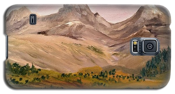 Tetons From The West Galaxy S5 Case