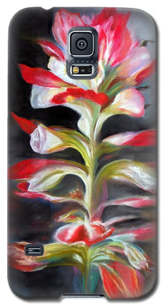 Texas Indian Paintbrush Galaxy S5 Case by Karen Kennedy Chatham