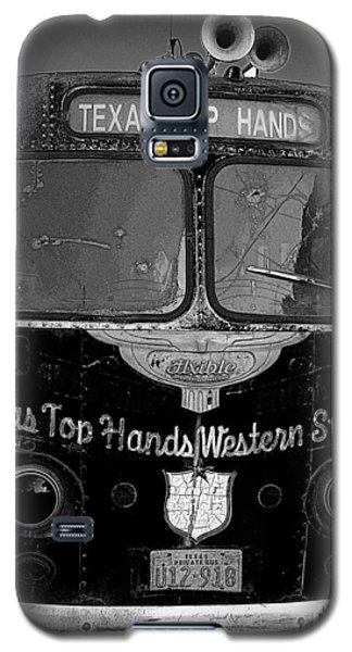 Texas Top  Hands Galaxy S5 Case by Jim Mathis