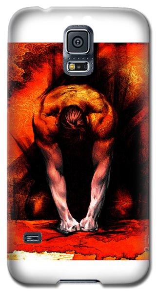 Textured Anger Galaxy S5 Case