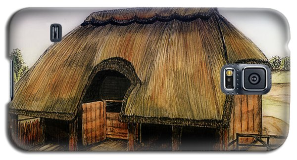 Thatched Barn Of Old Galaxy S5 Case by Shari Nees