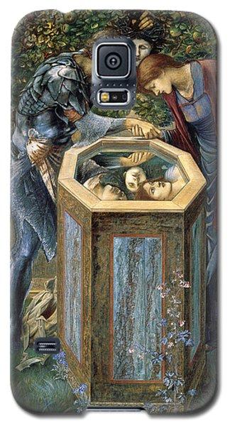 The Baleful Head Galaxy S5 Case by Edward Burne-Jones