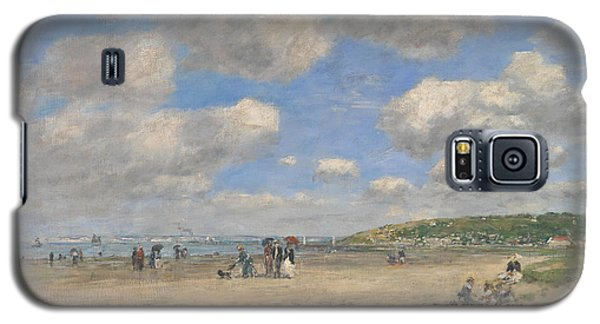 The Beach At Tourgeville Les Sablons Galaxy S5 Case
