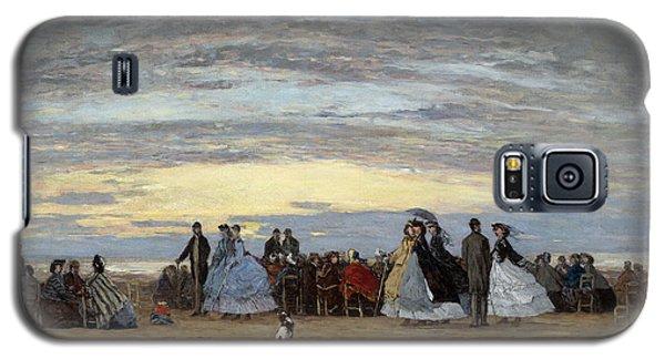 The Beach At Villerville Galaxy S5 Case