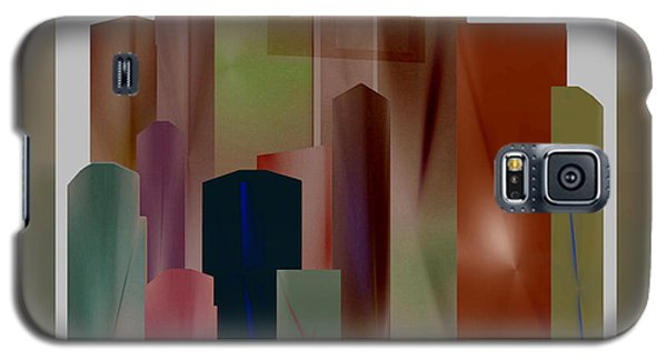 Galaxy S5 Case featuring the digital art The Block by John Krakora