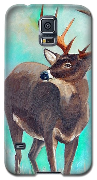 the Buck Stops Here Galaxy S5 Case by Sherril Porter