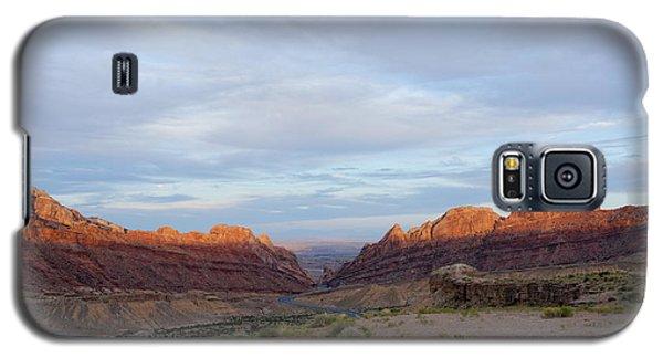 The Castles Near Green River Utah Galaxy S5 Case