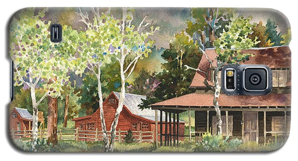 The Delonde Homestead At Caribou Ranch Galaxy S5 Case