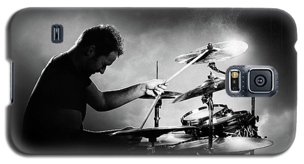 Drum Galaxy S5 Case - The Drummer by Johan Swanepoel