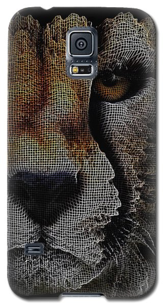 The Face Of A Cheetah Galaxy S5 Case by ISAW Gallery