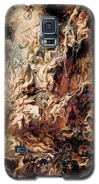 Galaxy S5 Case featuring the painting The Fall Of The Damned by Peter Paul Rubens