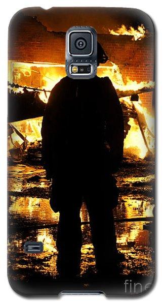 The Fireman Galaxy S5 Case by Benanne Stiens