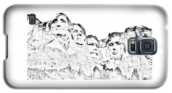 The Four Presidents Galaxy S5 Case