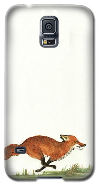 The Fox And The Pelicans Galaxy S5 Case