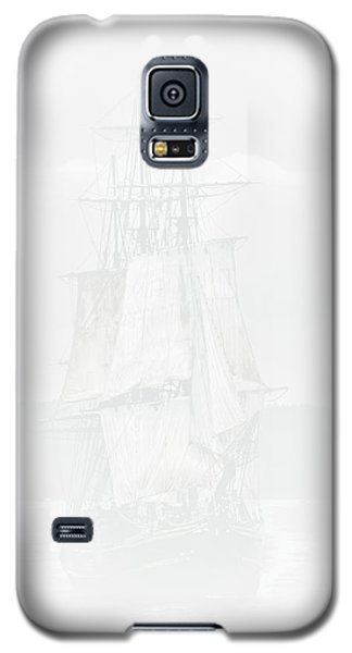 The Ghost Ship Galaxy S5 Case by David Patterson