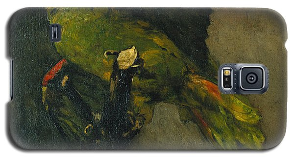 Parakeet Galaxy S5 Case - The Green Parrot by Vincent Van Gogh