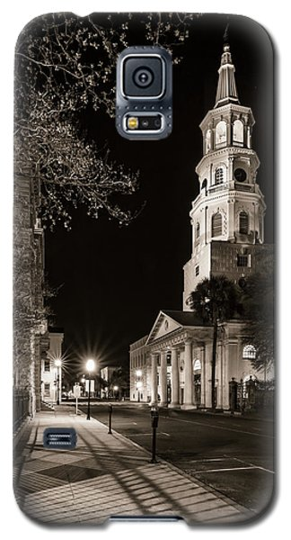 Galaxy S5 Case featuring the photograph St. Michael's Episcopal Church by Carl Amoth