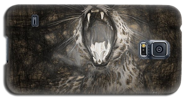 The Leopard's Tongue Rolling Roar IIi Galaxy S5 Case