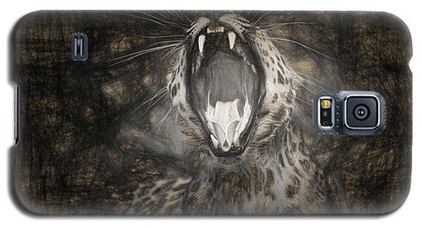 The Leopard's Tongue Rolling Roar IIi Galaxy S5 Case