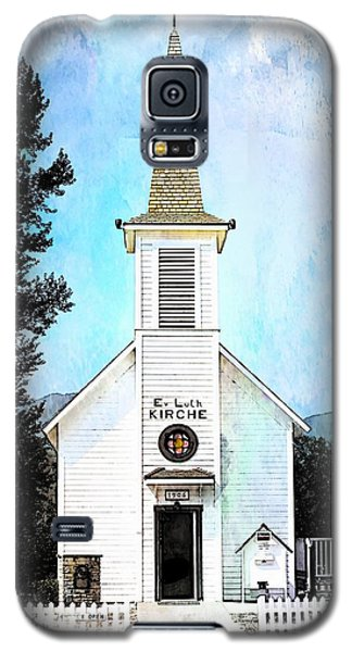 The Little White Church In Elbe Galaxy S5 Case by Joseph Hendrix