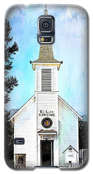 The Little White Church In Elbe Galaxy S5 Case by Joseph Hendrix