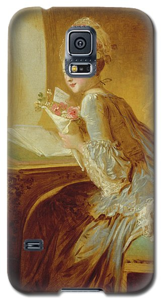 The Love Letter Galaxy S5 Case by Jean Honore Fragonard