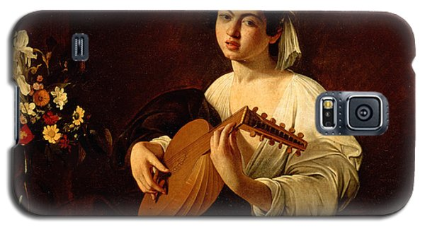 Music Galaxy S5 Case - The Lute-player by Caravaggio