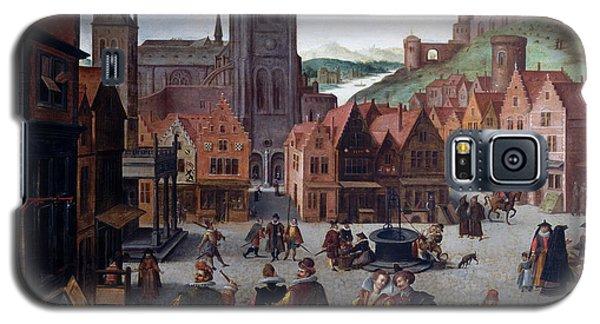 The Marketplace In Bergen Op Zoom Galaxy S5 Case
