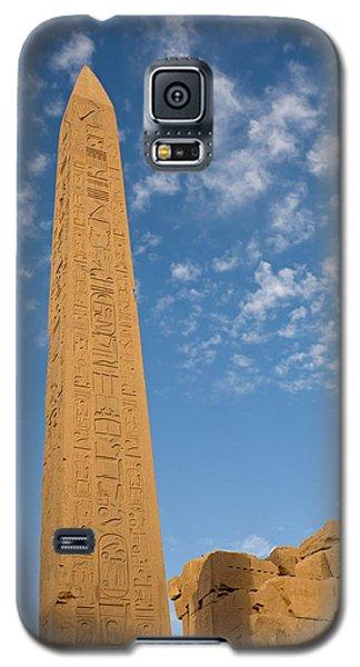 The Obelisk Of Queen Hatshepsut In Karnak Temple Galaxy S5 Case
