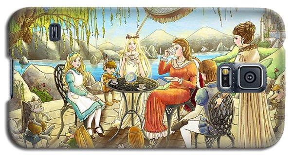 The Palace Garden Tea Party Galaxy S5 Case